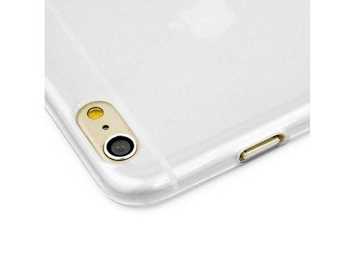 Прозрачно белый ТПУ чехол для iPhone 6/6s