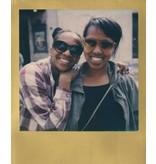 Кассета для Polaroid 600 с золотой рамкой