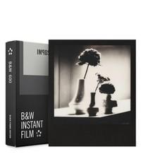 Polaroid 600 кассета черно белая с черной рамкой