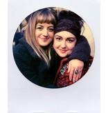 Цветная кассета Polaroid 600 c круглой рамкой