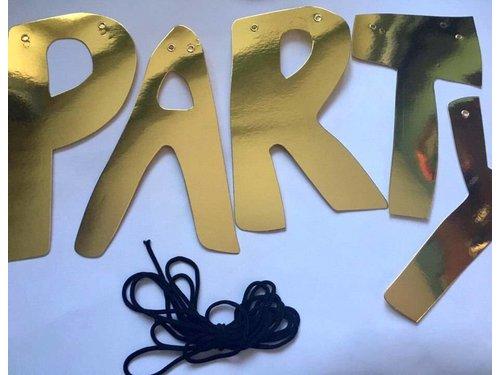 Гирлянда Party Time Золотая