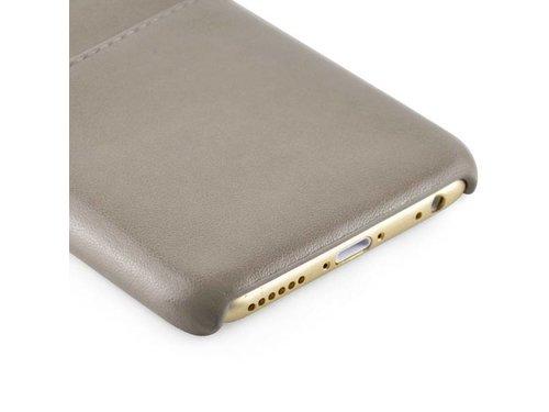 Кожаная крышка для iPhone 6/6s Серая