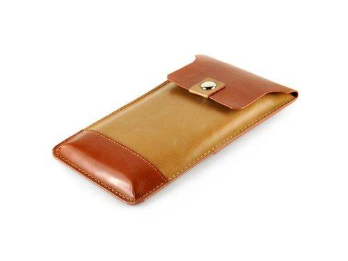 Стильный конверт кобура для фаблета Песочно-коричневый