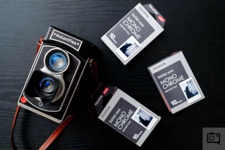 Обзор черно-белой пленки Fujifilm Instax Mini