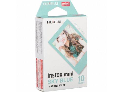 Кассета Fuji instax mini голубые рамки