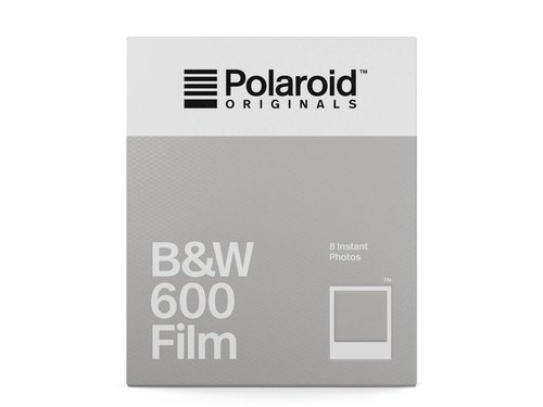 Polaroid 600 кассета черно белая новейшая