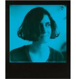 Черно голубая пленка Polaroid 600 Duochrome