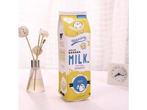 Пенал косметичка в виде упаковки Молоко