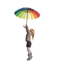 Аренда радужного зонта на неделю