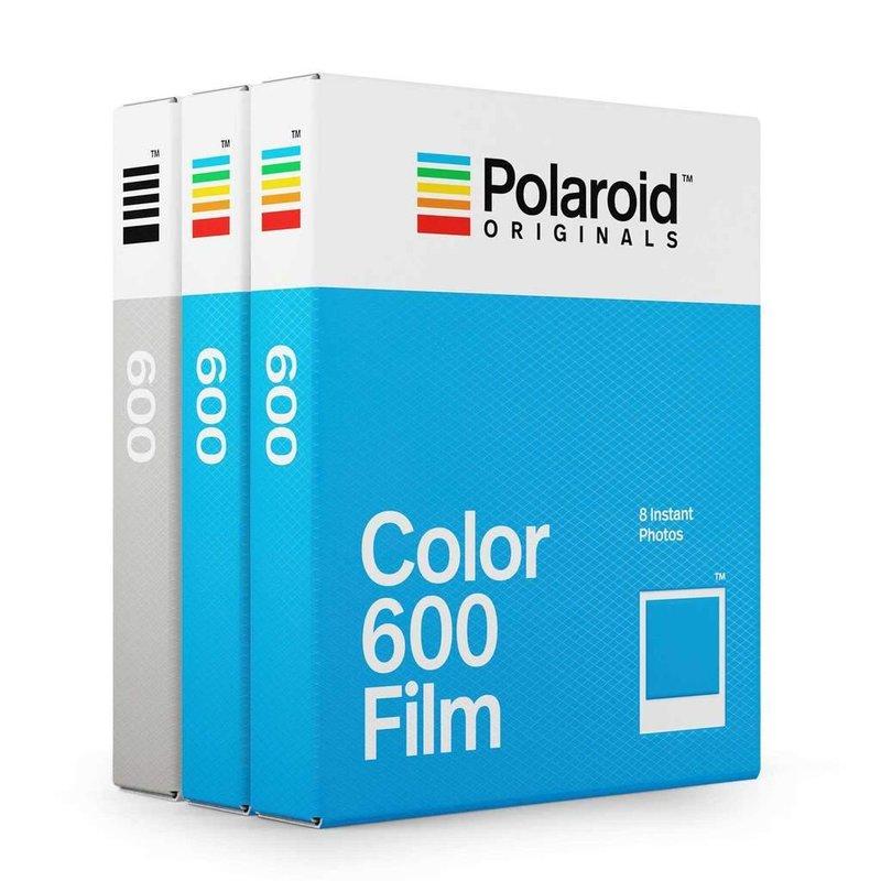 3 кассеты Полароид 600