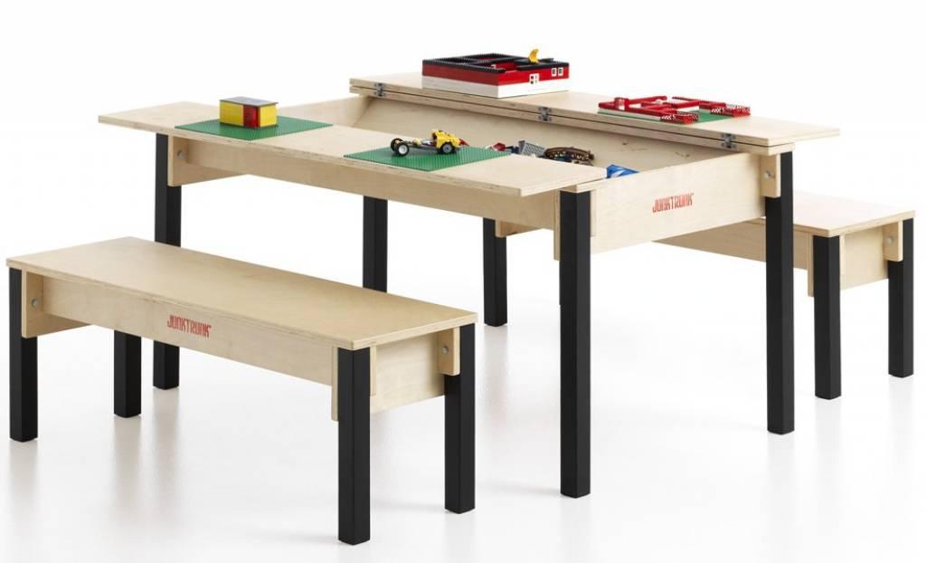 table et bancs enfant. Black Bedroom Furniture Sets. Home Design Ideas