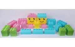 Lego géant mousse