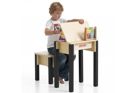 bureau pupitre en bois pour enfant bureau colier design. Black Bedroom Furniture Sets. Home Design Ideas
