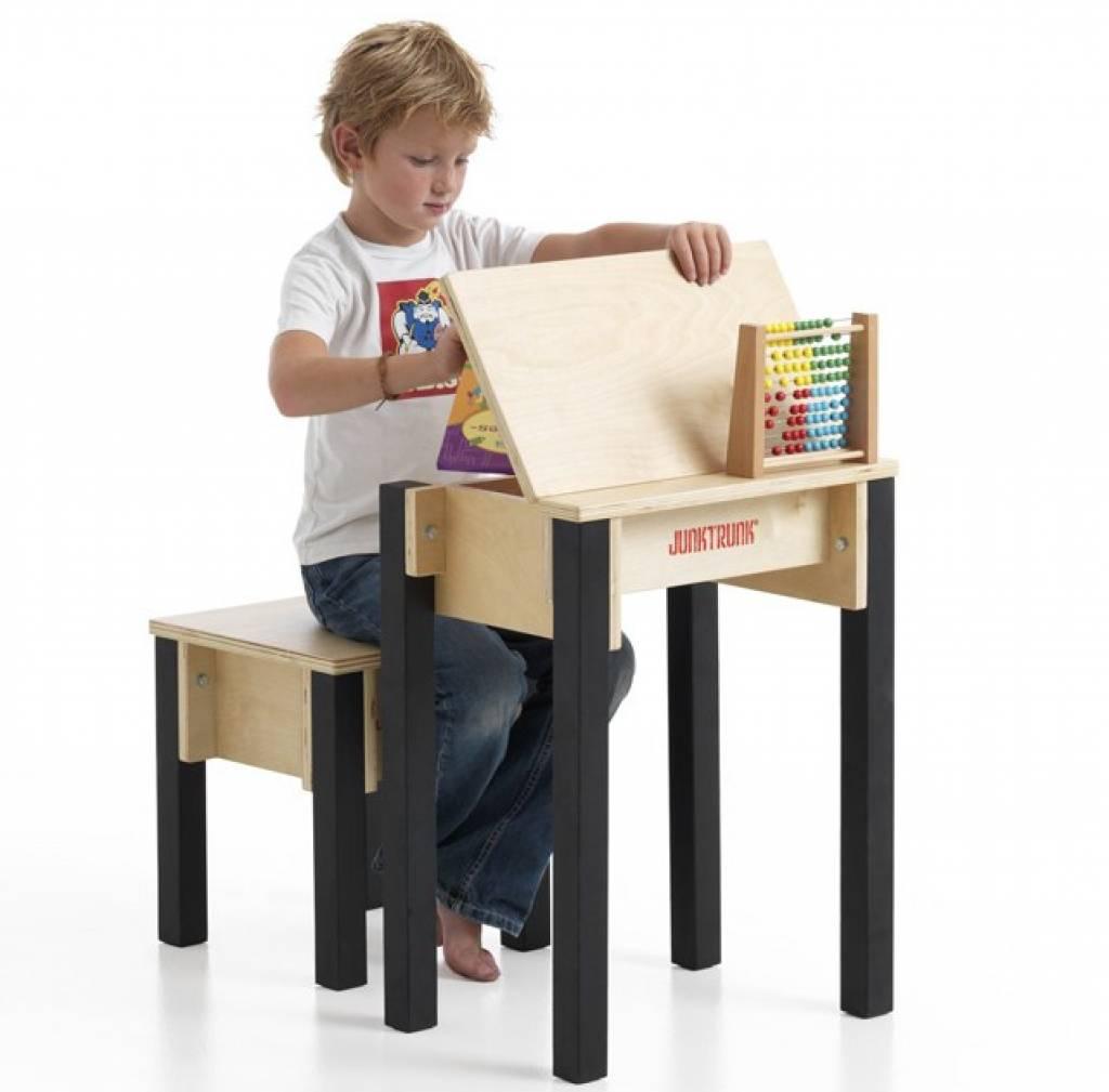 Bureau pupitre en bois pour enfant bureau colier design - Pupitre incline pour bureau ...