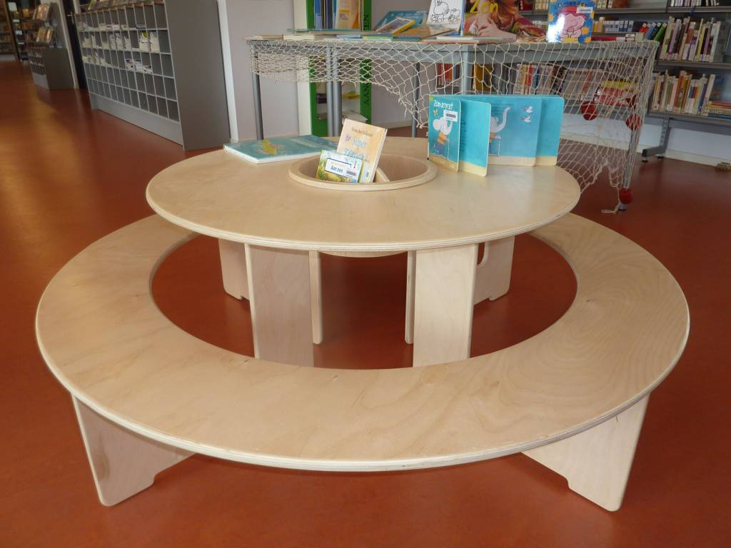 Table ronde pour enfant - Set de table pour table ronde ...