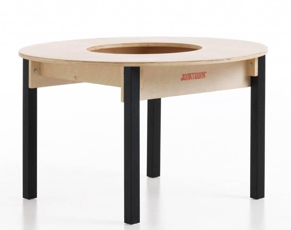 table enfant avec rangement ronde. Black Bedroom Furniture Sets. Home Design Ideas