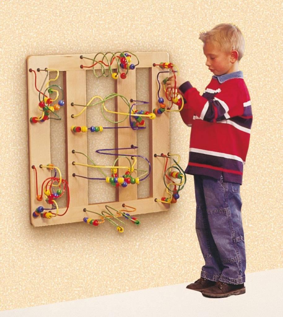 boulier g ant boulier geant avec jeu labyrinthe en bois. Black Bedroom Furniture Sets. Home Design Ideas