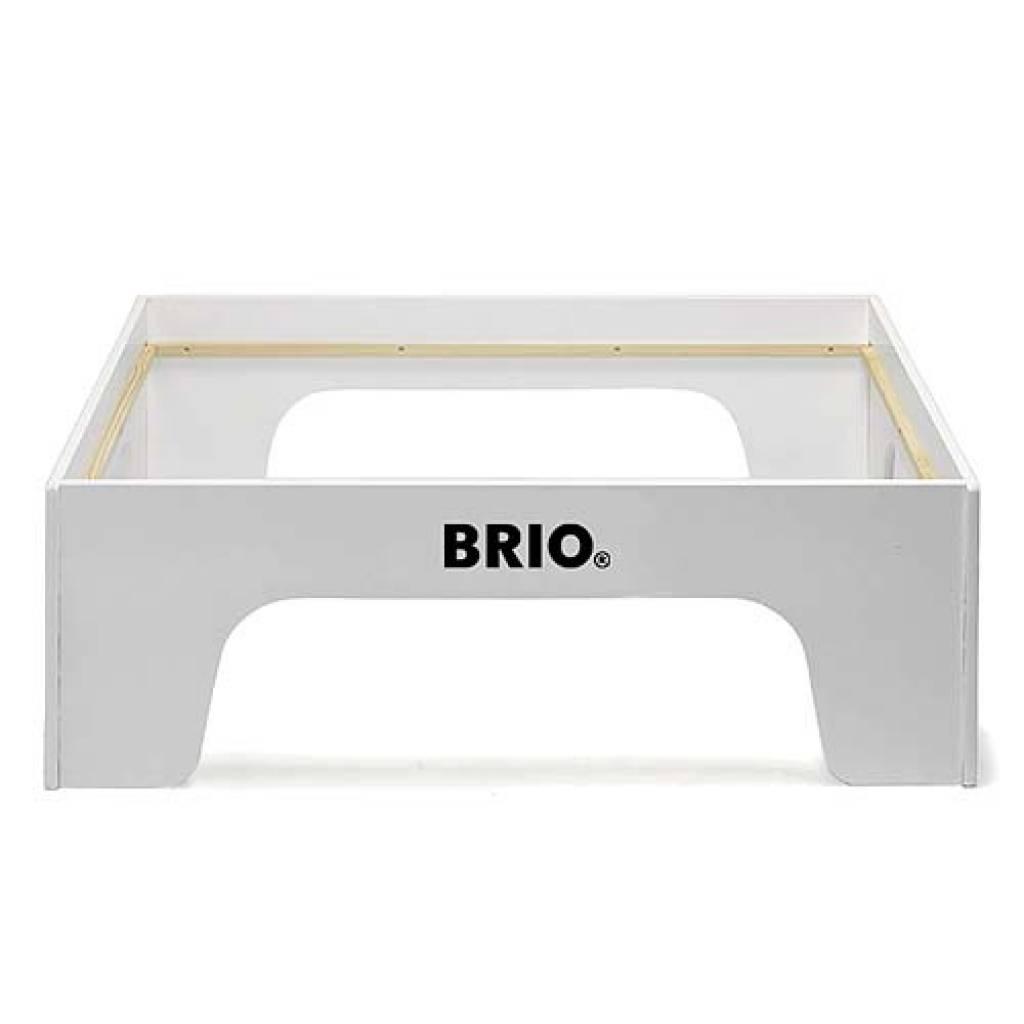 Table brio en bois avec circuit tablesdejeux - Table circuit ...