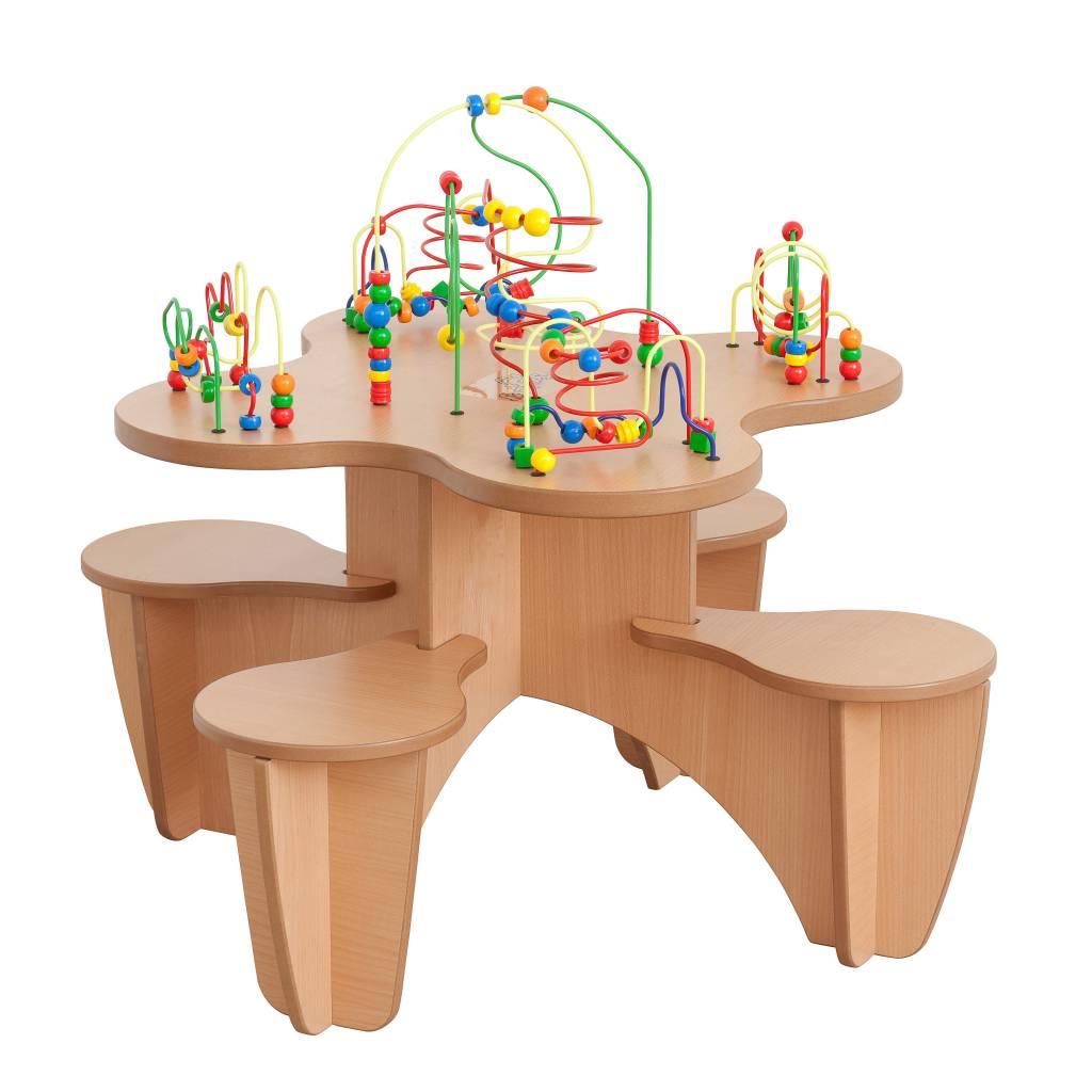 Table de jeu boulier for Jeu des tables