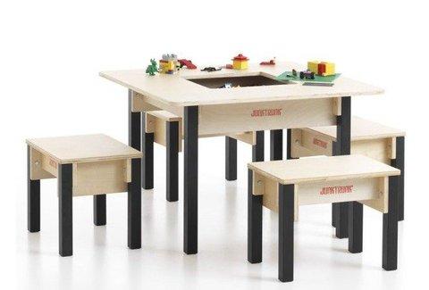 Table enfant avec rangement carr e - Table enfant avec rangement ...