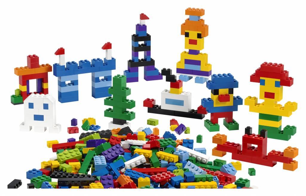 lego briques de base 45020 grande boite avec 1000 pi ces. Black Bedroom Furniture Sets. Home Design Ideas