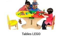 table pour lego table de construction pour jouer aux lego. Black Bedroom Furniture Sets. Home Design Ideas