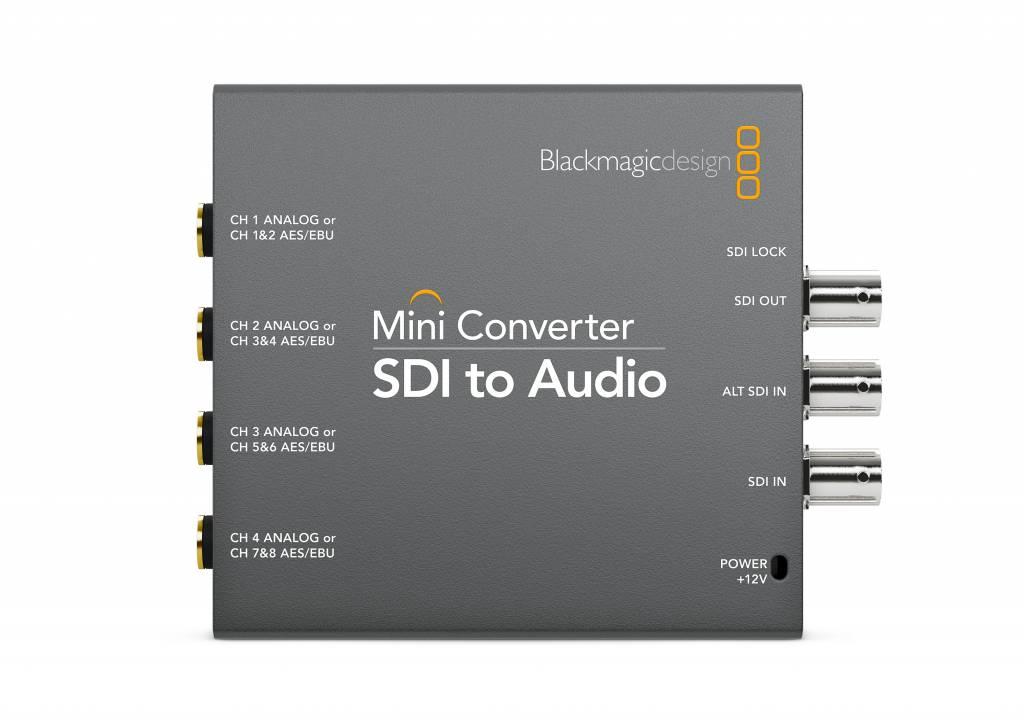 Blackmagic design mini converter sdi to audio for Convert image to blueprint online