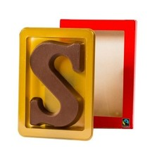 Delicious tasty Sinterklaas chocolate letters (Fair St.)