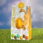 """Paas attenties met thema """"Voor Jou!"""" (een Paas geschenkdoosje Voor Jou! Chocolade, 150 gram)"""