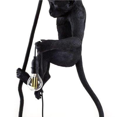 Hangende Monkeylamp aan touw