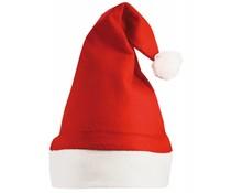 Купи Евтини червено и бяло коледни шапки? Red Санта шапки с бял кант (размер на възрастни)