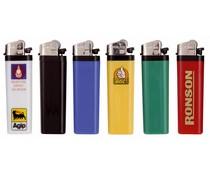 Goedkope wegwerpaanstekers (incl. opdruk van een logo en/of tekst)