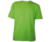 T-shirts in de kleur lichtgroen / lemon (uniseks T-shirts, met ronde hals en korte mouw)