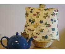 Cozy Design mit Blumenmuster (einschließlich Weidenkorb und passende Höschen)