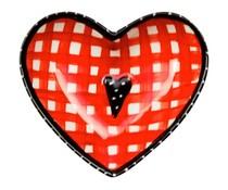 """Koekepeer! Tea чинийка Koekepeer торбичката плоча с Red тема """"Това е един прекрасен ден"""""""