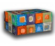 Tip! Kado Idee? Моден пакети High Tea тема с Cosy (опакован със съвпадащи плънка в кутия за подарък с съвпадение на печат)