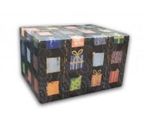 Tip! Kado Idee? High Tea Theme-Paket mit Tee-Messe (Bruch auftreten mit papierwol in einer passenden Geschenkbox verpackt)
