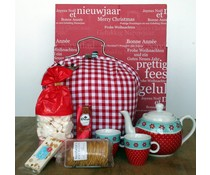 "Tip! Kado Idee? High Tea Theme-Paket ""Tee-Messe mit red dot"""