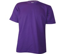 Cheap purple buy T-shirts? Purple T-shirts with round neck and short sleeves (100% cotton)