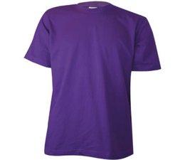 Евтини лилави купи тениски? Евтини лилави тениски с обло деколте и къси ръкави!