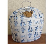 Design Theebeurs in Delfts blauw print (oud Holland design)