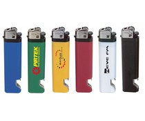 Feuerzeuge mit Flaschenöffner (einschließlich Druck eines Logos / Text)