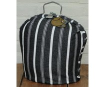 Design Tea Fair chalk (black with white contrast stripes)