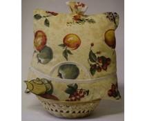 """Дизайн Уютни """"Плодове"""" (включително ракита кошница и съвпадение чорапогащи)"""