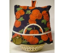 Дизайн Cosy с черешово печат (вкл. Wicker кошница с съвпадение инкрустация)