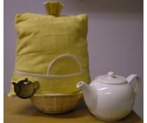 Дизайн Teacosy в жълто