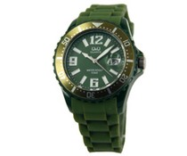 Goedkope horloges kopen? Goedkope trendy horloges in de kleur donkergroen kopen?