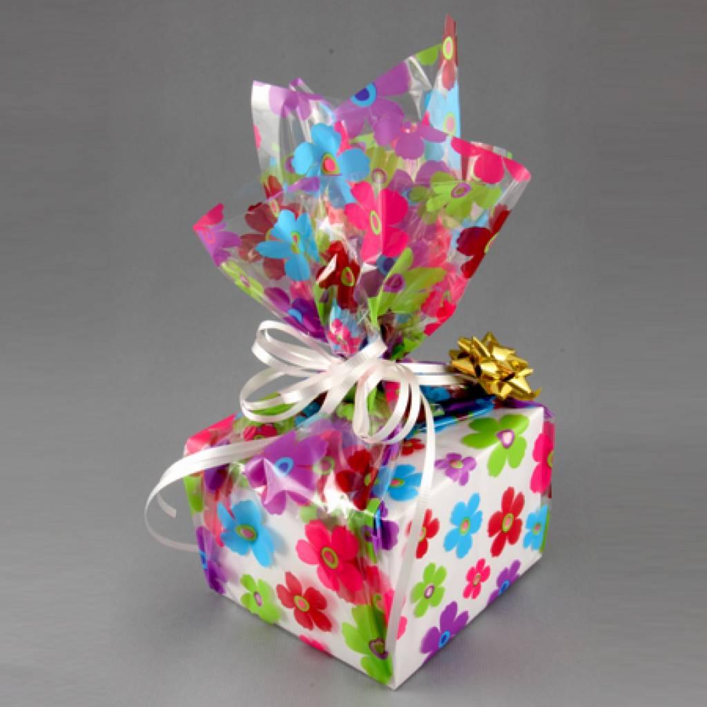 Упаковка круглого подарка 53