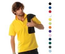 100% katoenen heren Poloshirts (polo pique)