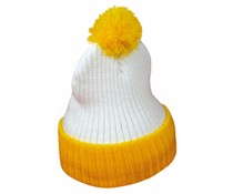 Pom Pom Hüte für Erwachsene (Stretch, uni erwachsene Größe)